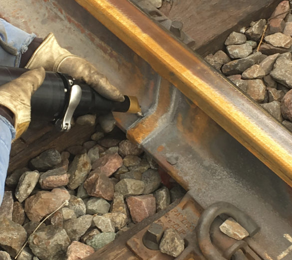 Railway track repairs - Ultrasonic impact treatment equipment | Empowering Technologies