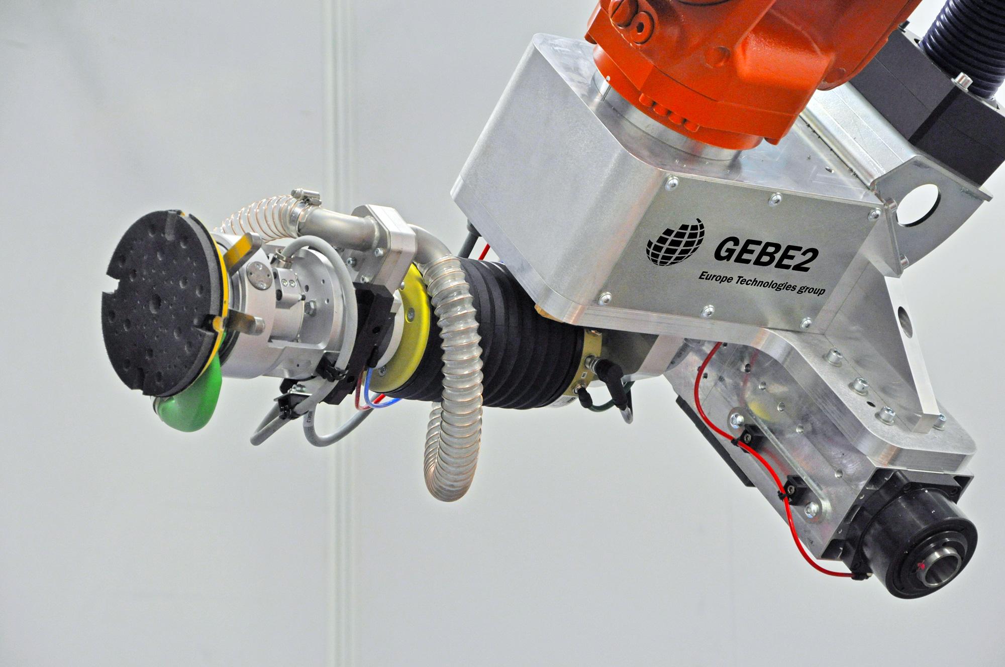 Robotic sanding - Composite sanding