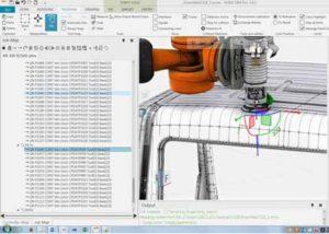 Robotic sanding - offline programming | GEBE2
