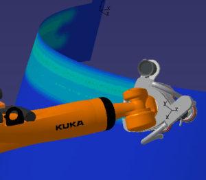 Robotic sanding-offline programming | GEBE2