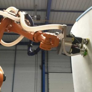 Robotic-sanding-of-composite-materials | GEBE2